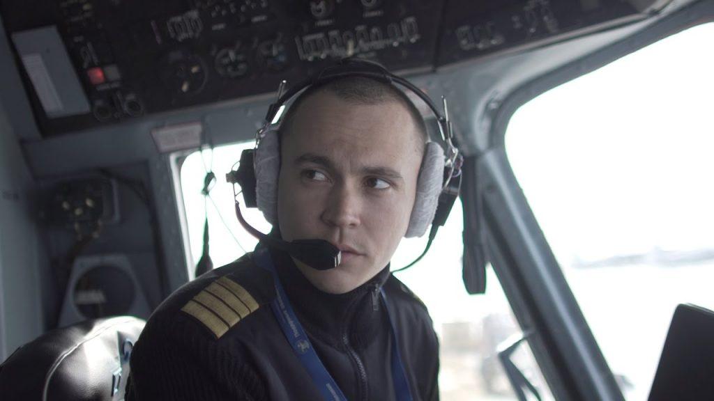 пилот на пътнически самолет
