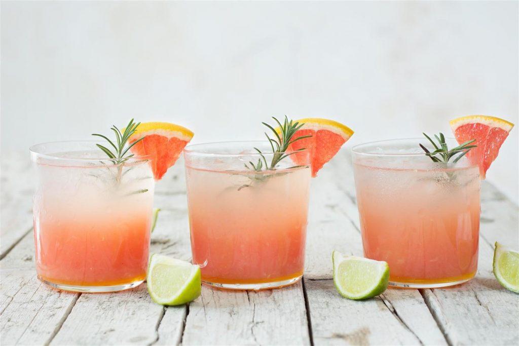 детокс напитки - грейпфрут и лайм