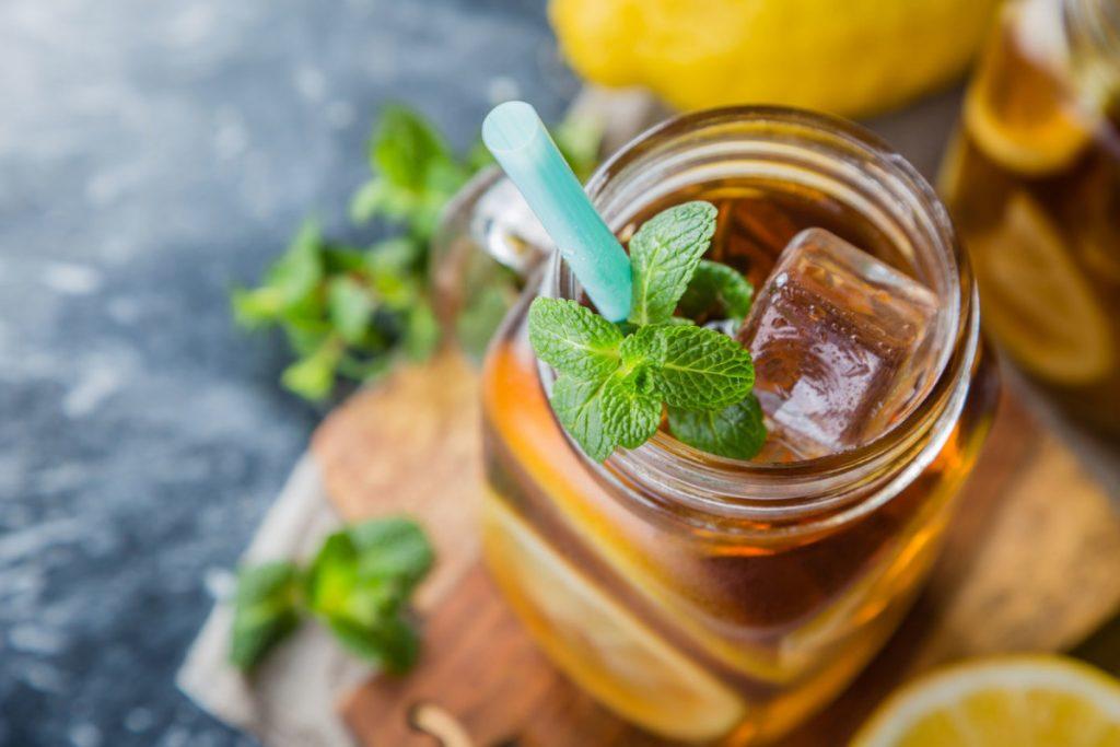 детокс напитки – джинждифил и мента