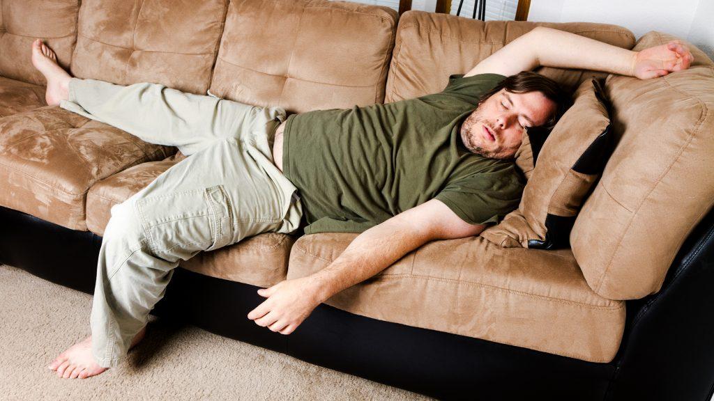 липса на физически упражнения стрес