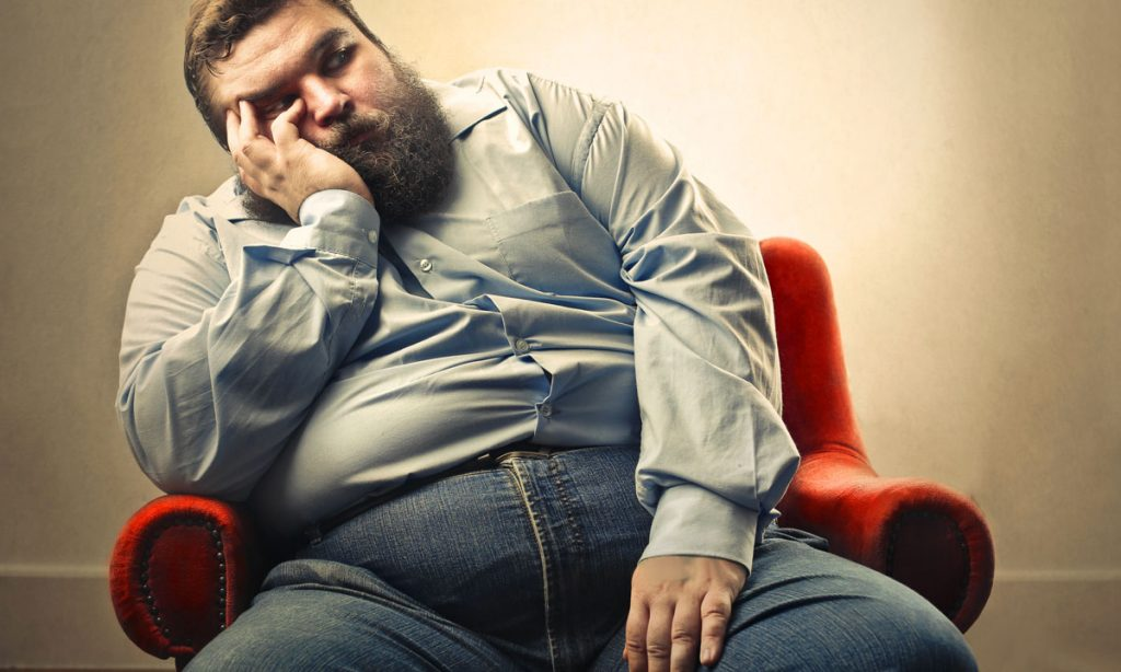 наднормено тегло и депресия