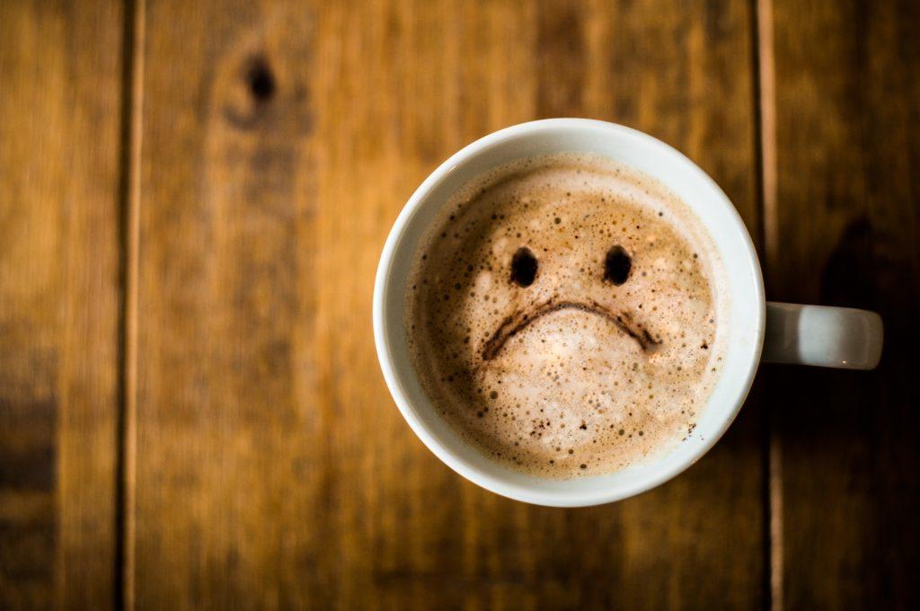 прекаляване с кафето стрес