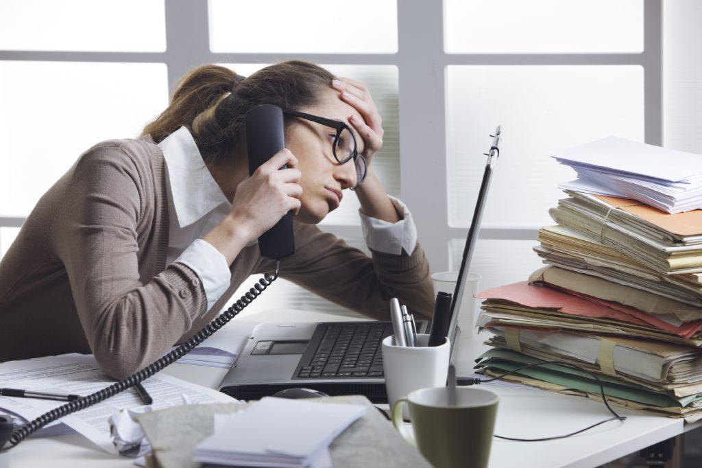 стрес на работа – напрежение или стрес