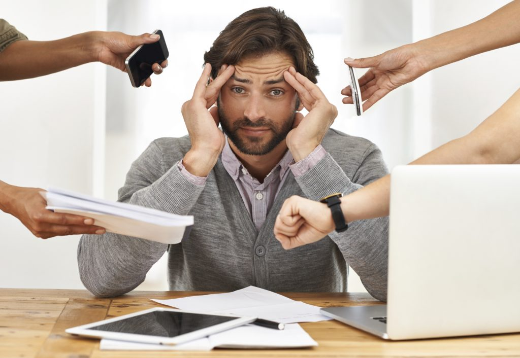 стрес на работа