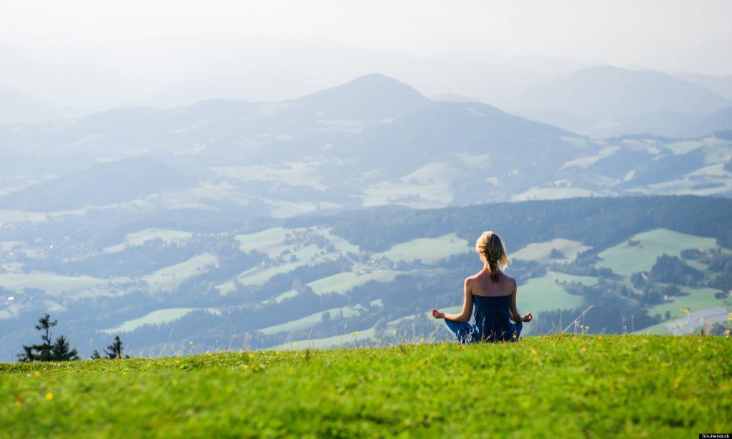 Медитация в планината