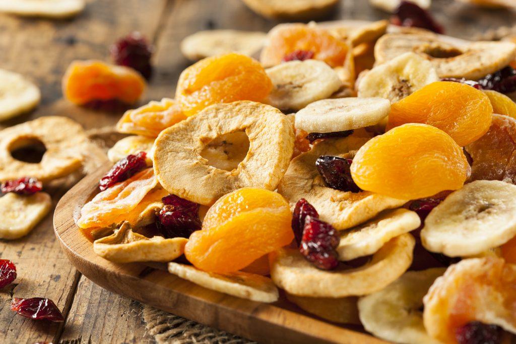 здравословни храни – пълнеене – сушени плодове