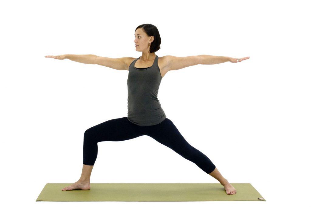 Как да отслабнем с йога - воин