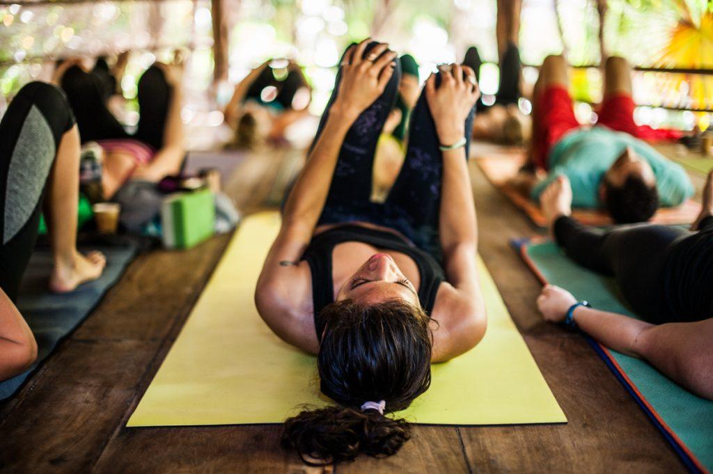 какво е йога ритрийт - дейности