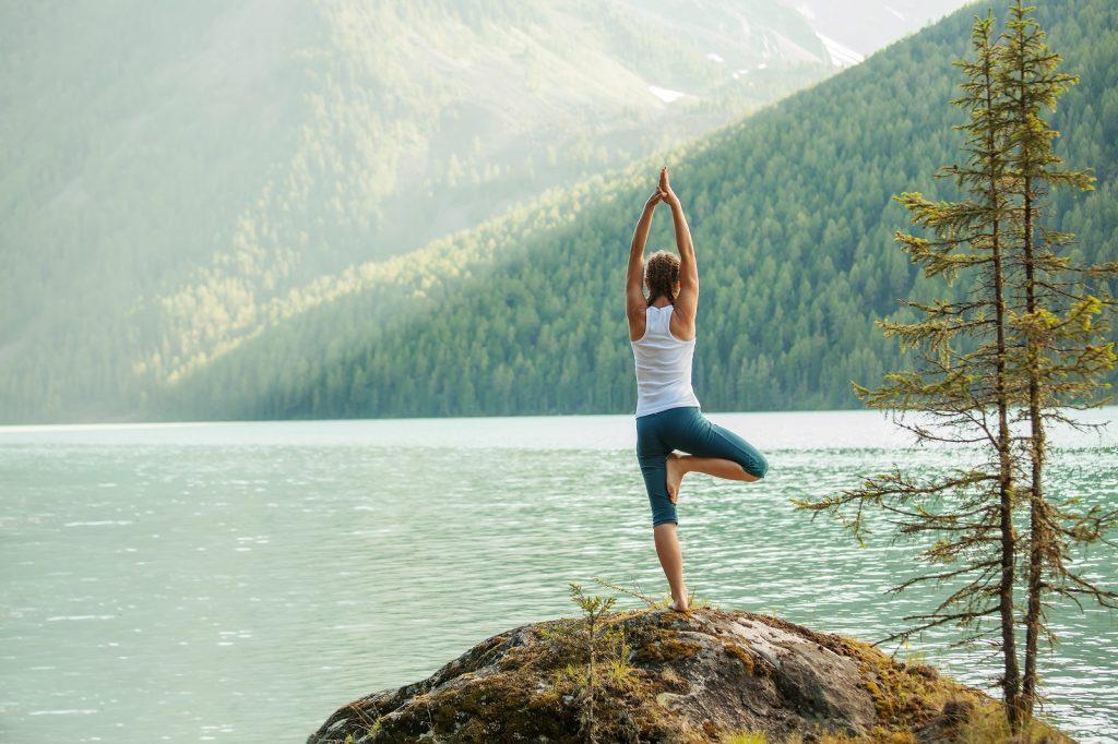 какво е йога ритрийт - природа
