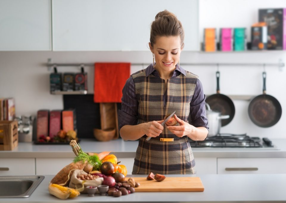 размерът на порциите – хранене у дома